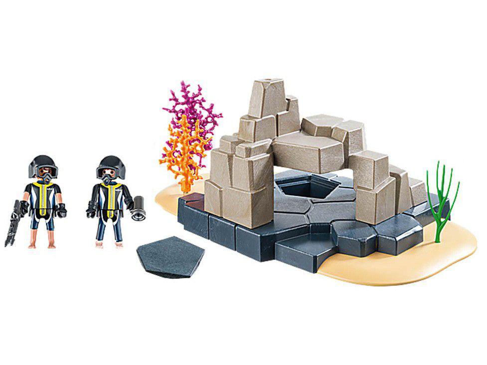 Playmobil Unidade de Mergulho Tático da Polícia - 55 Peças