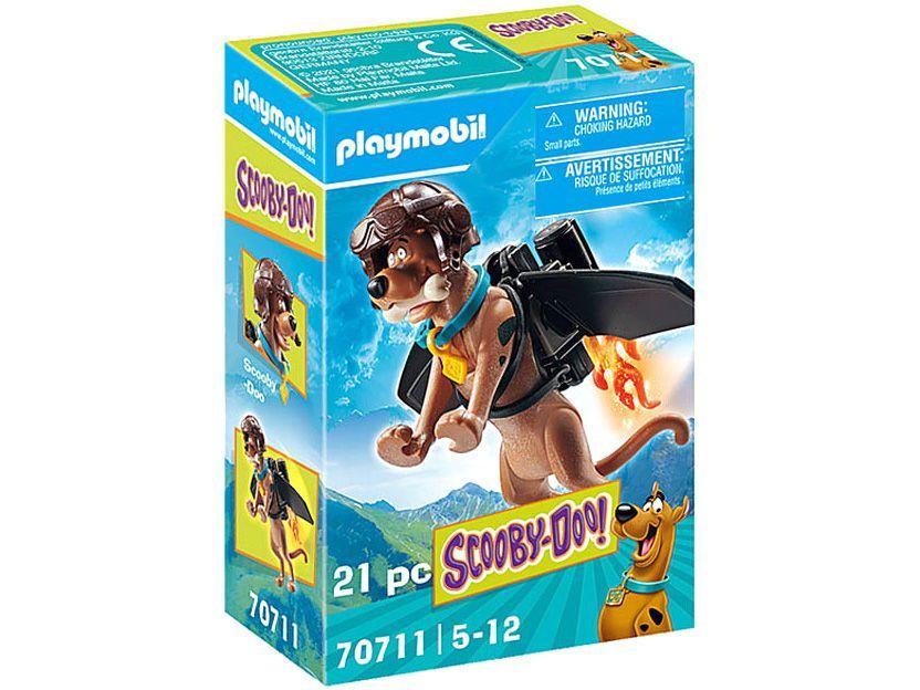 Playmobil Scooby-Doo! Figura Colecionável do - Piloto 21 Peças