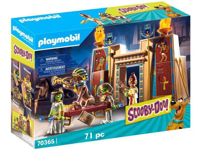 Playmobil Scooby-Doo! Aventura no Egito 71 Peças