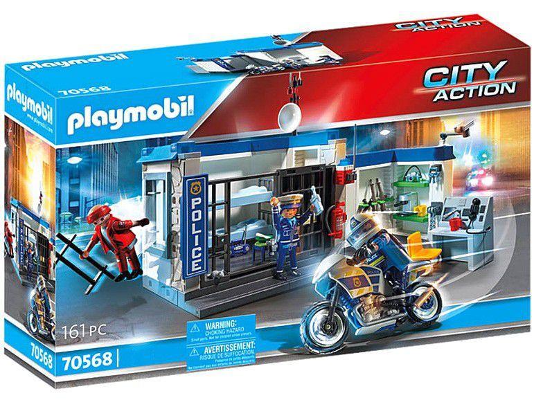 Playmobil City Action Fuga da Prisão 161 Peças
