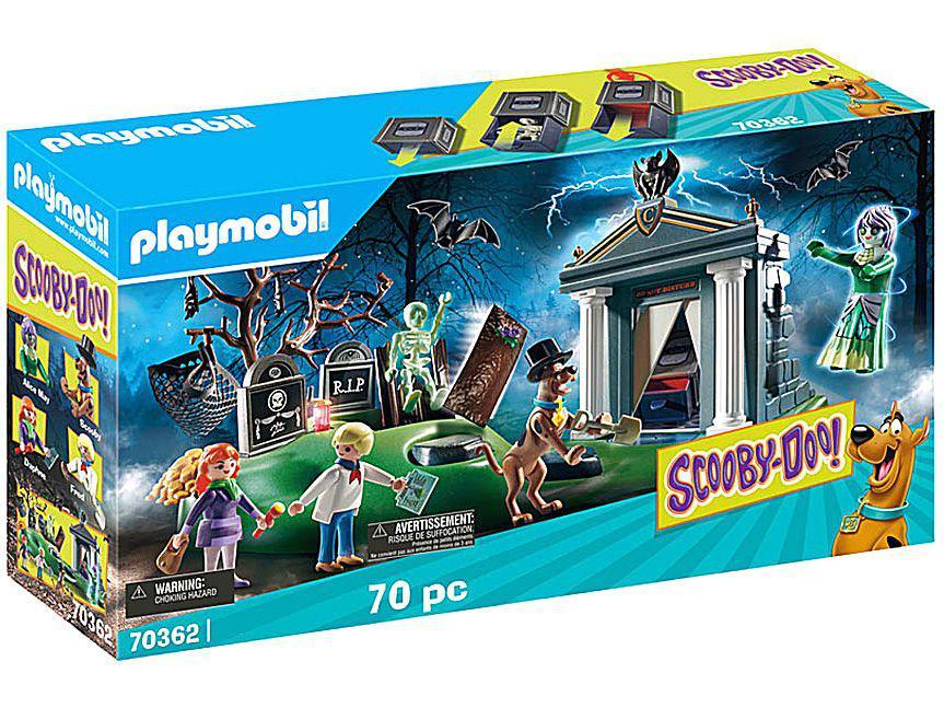 Playmobil Scooby-Doo! Aventura no Cemitério - 70 Peças
