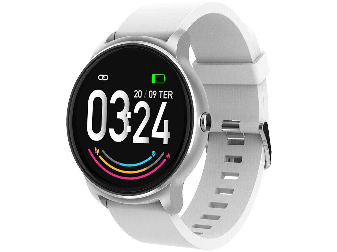 """Smartwatch Atrio Viena ES385 Prata 1.3"""" 64MB"""