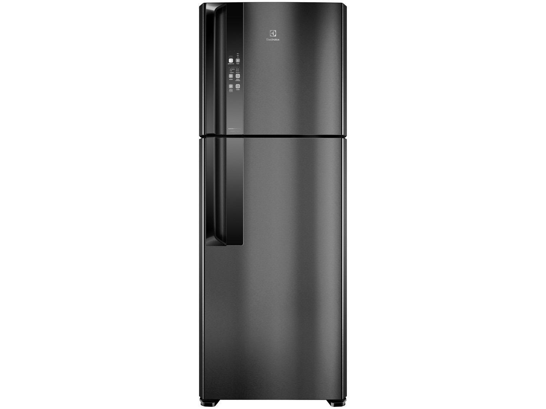 Geladeira/Refrigerador Electrolux IF56B Inverter - Top Freezer Frost Free 474L Black Inox Look