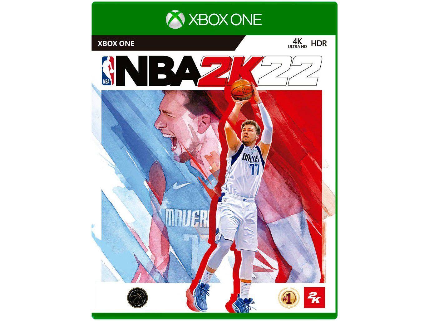 NBA 2K22 para Xbox One Take - Two - Lançamento