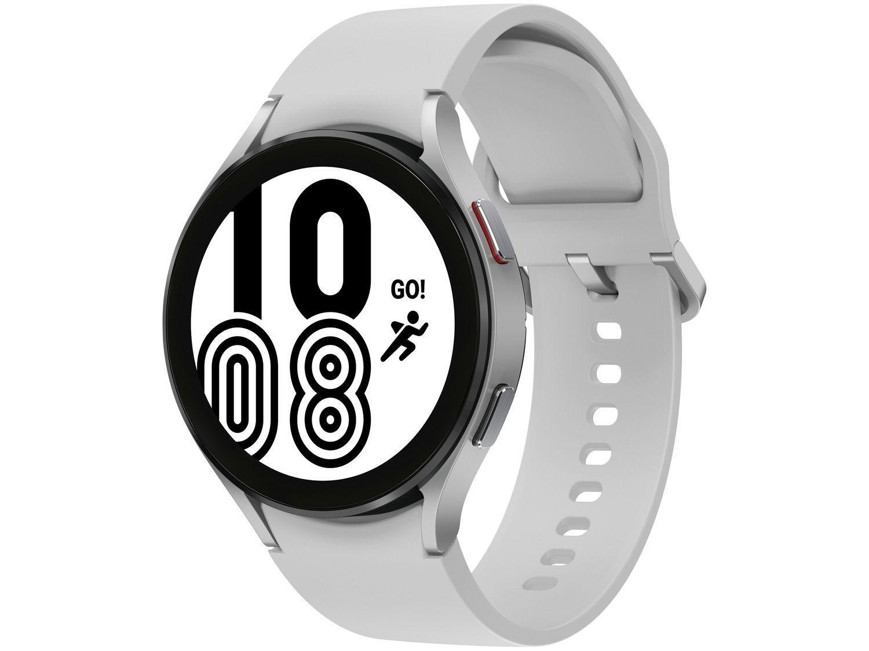 Smartwatch Samsung Galaxy Watch4 BT Prata 44mm - 16GB