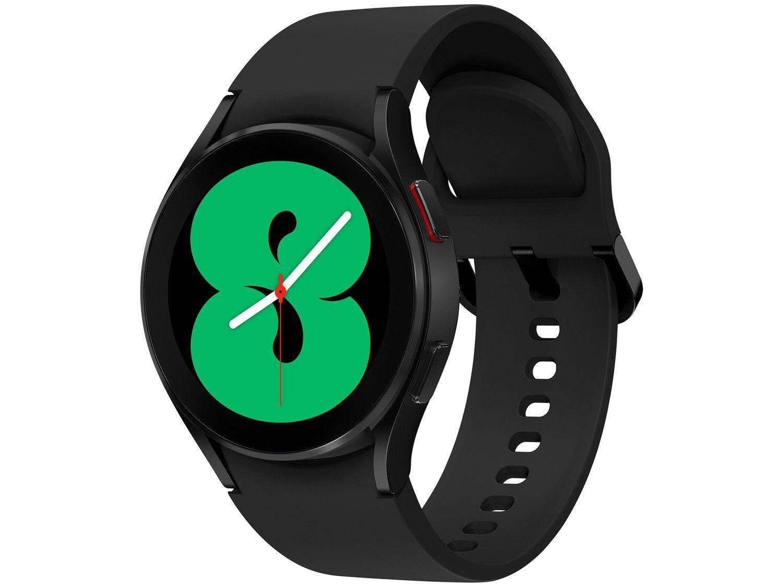 Smartwatch Samsung Galaxy Watch4 BT Preto 40mm - 16GB