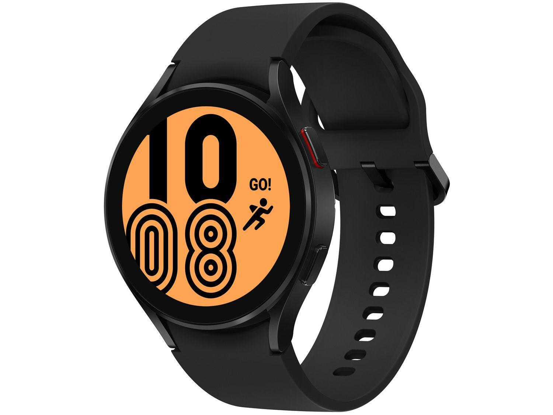 Smartwatch Samsung Galaxy Watch4 LTE Preto 44mm - 16GB