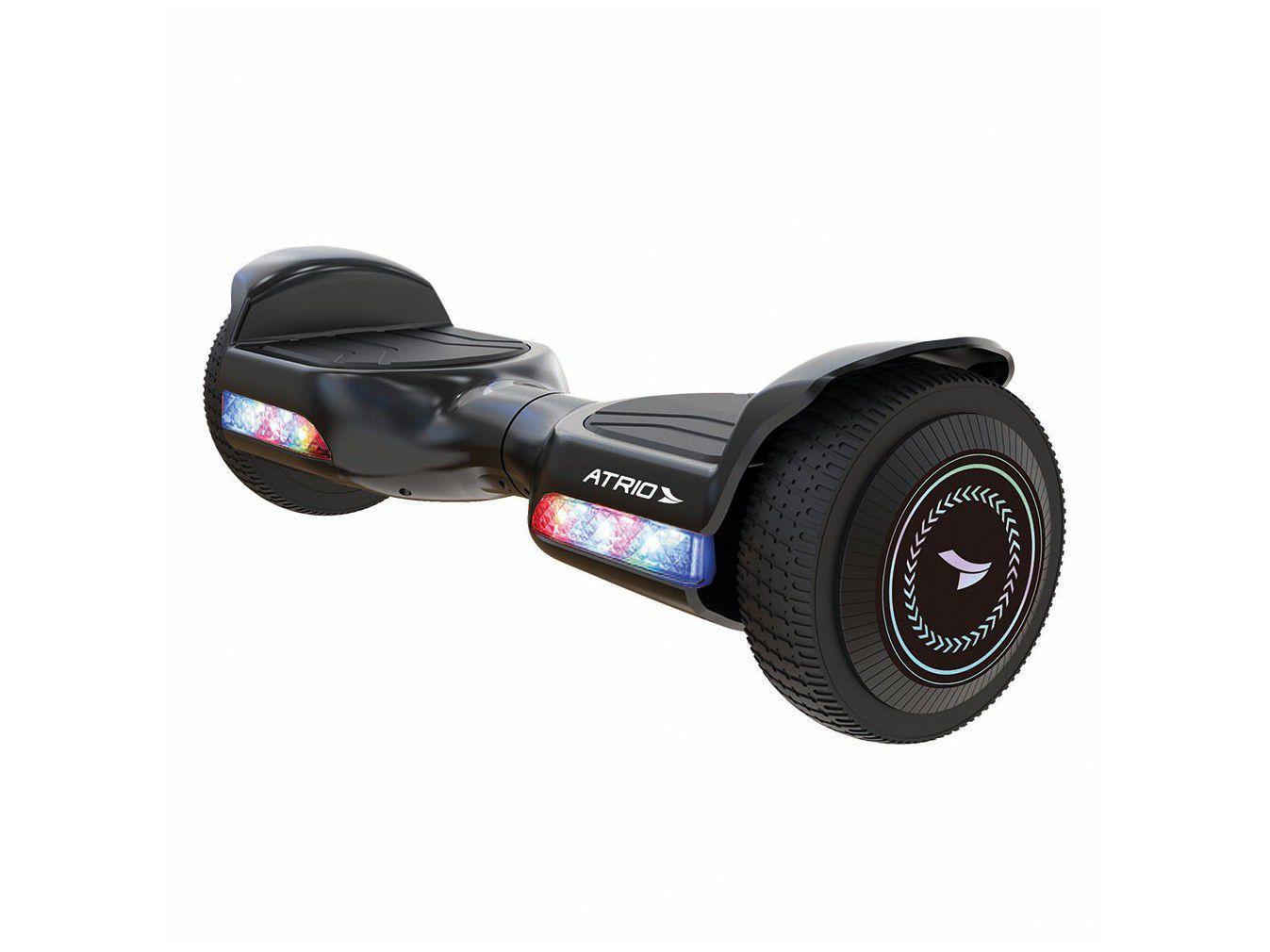 """Hoverboard Atrio Original 6,5"""" com LED Preto - Fun"""