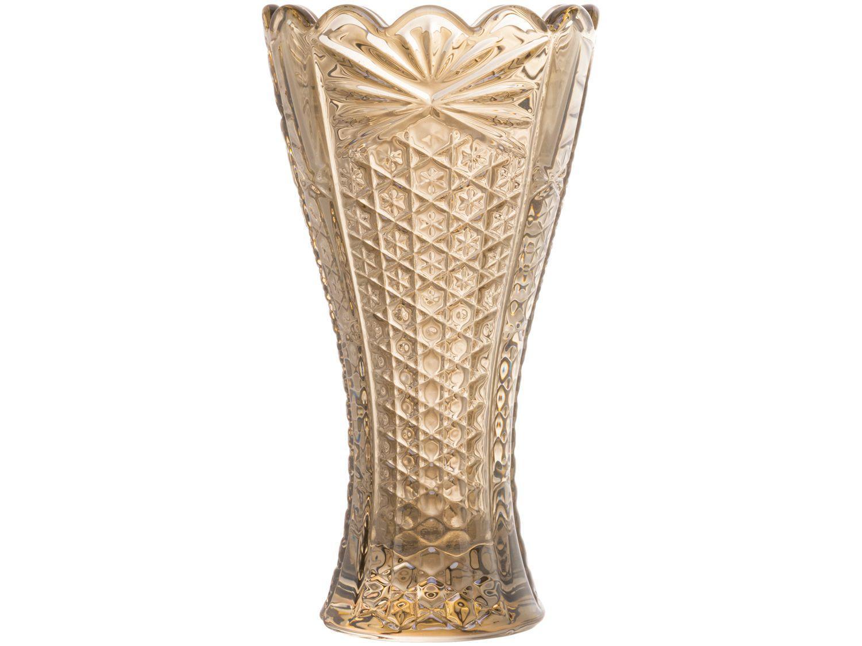 Vaso de Cristal Champanhe Wolf Princess 8x14cm