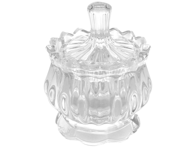 Potiche Decorativo de Cristal 11cm Lyor Mali