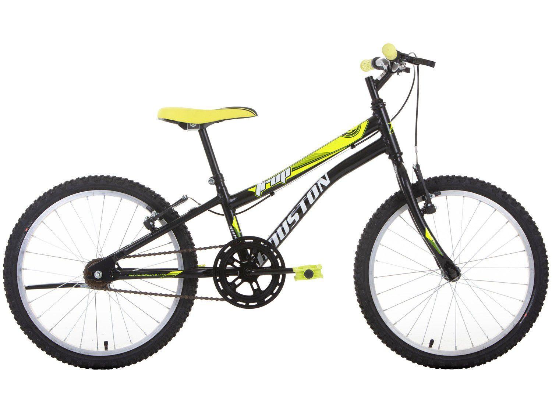 """Bicicleta Aro 20"""" Houston Trup Aço Freio V-Brake"""