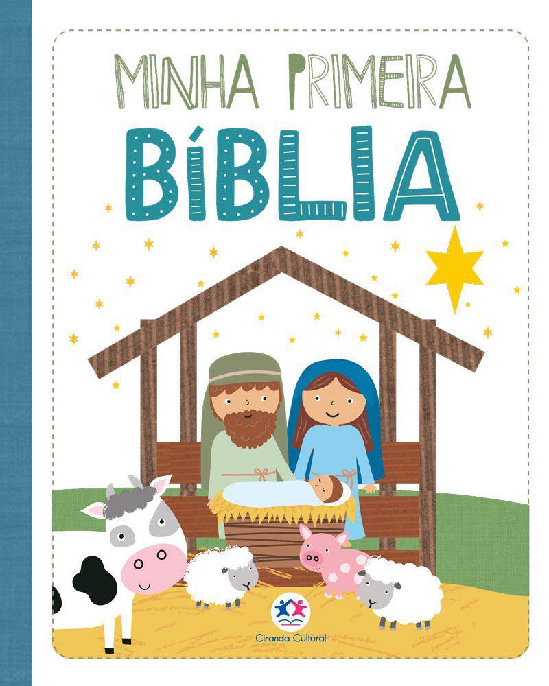 MINHA PRIMEIRA BIBLIA - - 978655500592