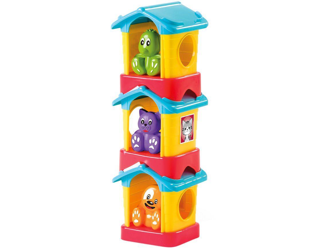 Brinquedo Educativo Home Pet Tateti 6 Peças