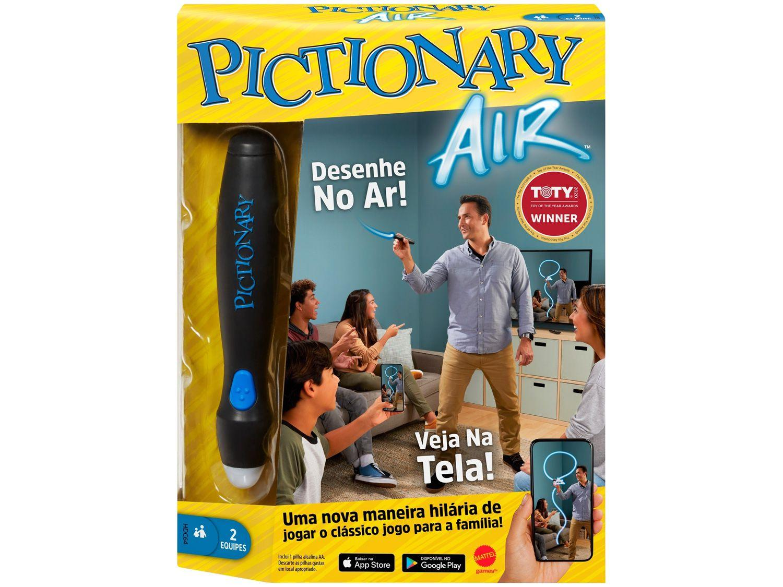 Jogo Pictionary Family Games Mattel