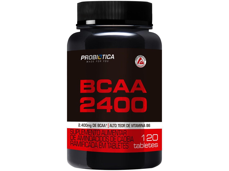BCAA Probiótica 2400 em Tabletes 120 Tabletes - sem Sabor