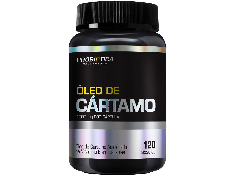 Óleo de Cartamo Probiótica em Cápsulas - 120 Cápsulas