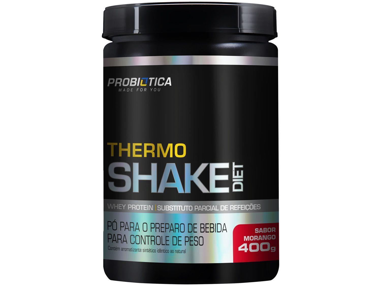 Termogênico Probiótica Thermoshake Diet em Pó - 400g Morango