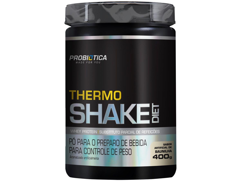 Termogênico Probiótica Thermoshake Diet em Pó - 400g Baunilha