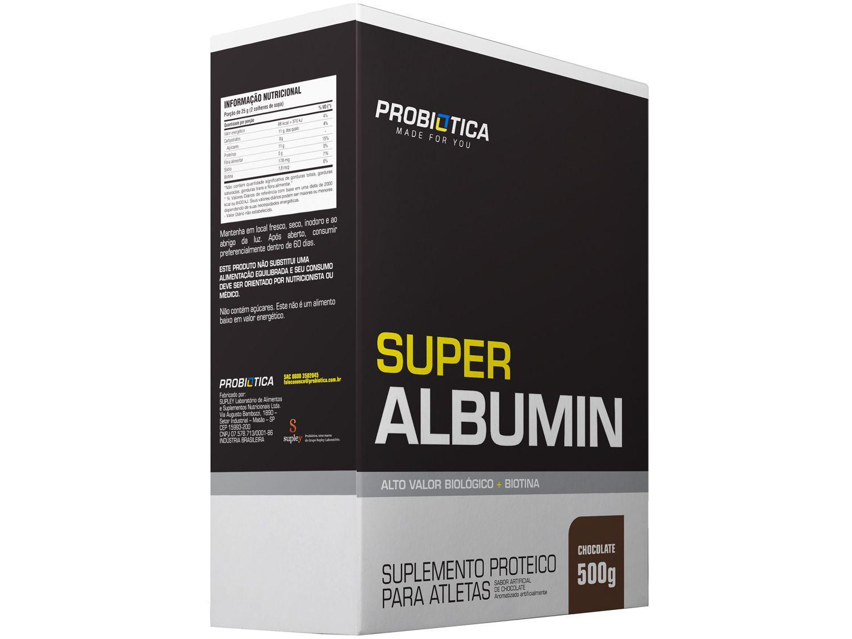 Albumina Probiotica Super Albumin em Pó 500g - Chocolate