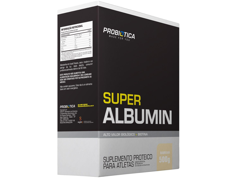 Albumina Probiotica Super Albumin em Pó 500g - Baunilha