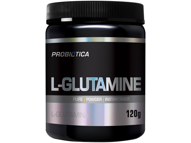 Glutamina Probiotica L-Glutamine em Pó 120g - sem Sabor