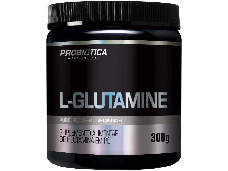 Glutamina Probiotica L-Glutamine em Pó 300g