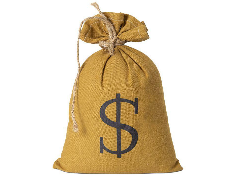 Peso de Porta Saco de Dinheiro Jolitex