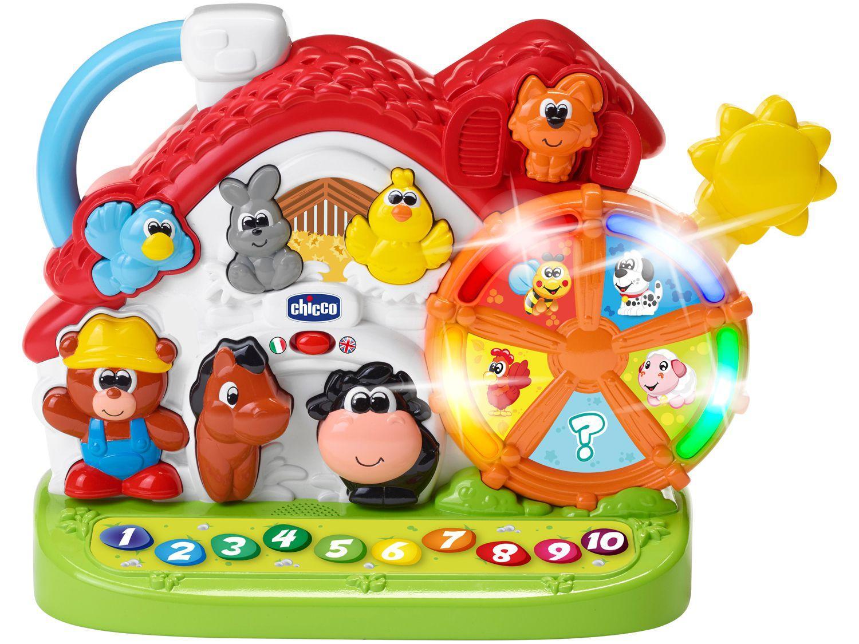 Brinquedo Musical Atividades da Fazenda Chicco