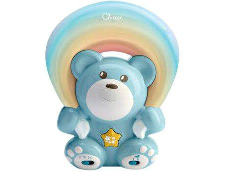 Projetor Infantil Musical Chicco Rainbow Bear Blue