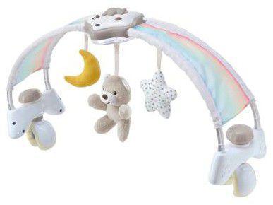 Arco de Atividades Indicado Para Berço Chicco - Rainbow Sky Bed Arch Neutral
