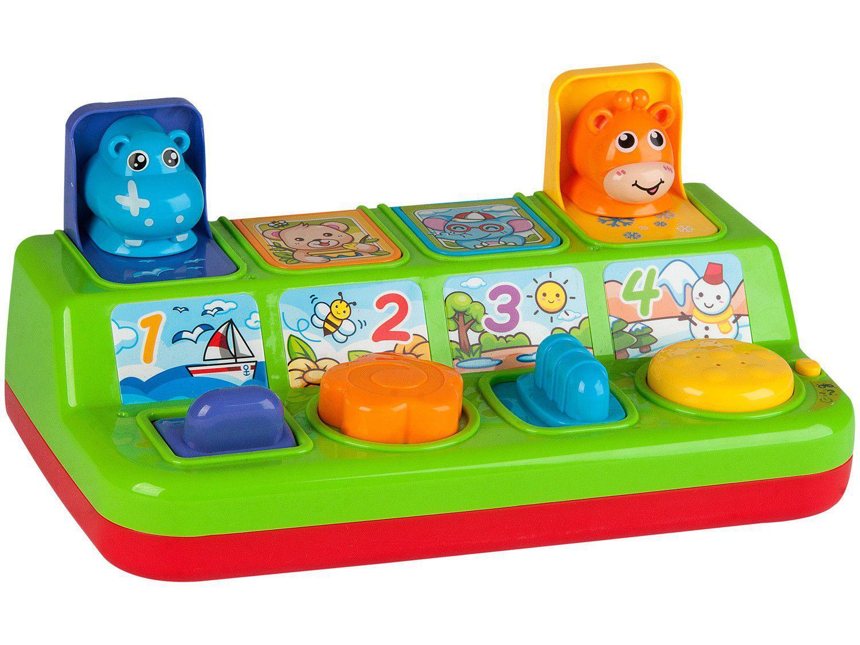 Brinquedo Interativo Bichinhos Pop-Up - Primeiros Passos Zoop Toys