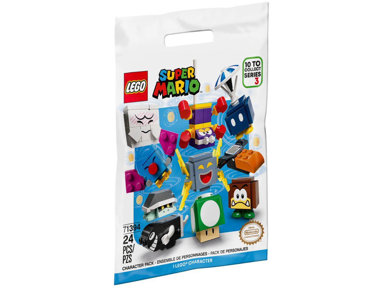 LEGO Super Mario Pacote de Personagens - Série 3 - 24 Peças 71394