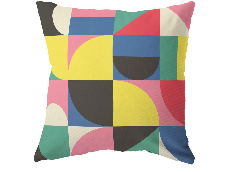 Capa de Almofada 42x42cm Design Up Living - Pop Art Colorido