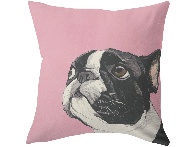 Capa de Almofada 42x42cm Design Up Living - Pet Lovers Cão