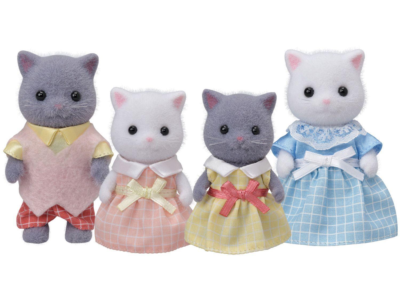 Sylvanian Families Família dos Gatos Persas