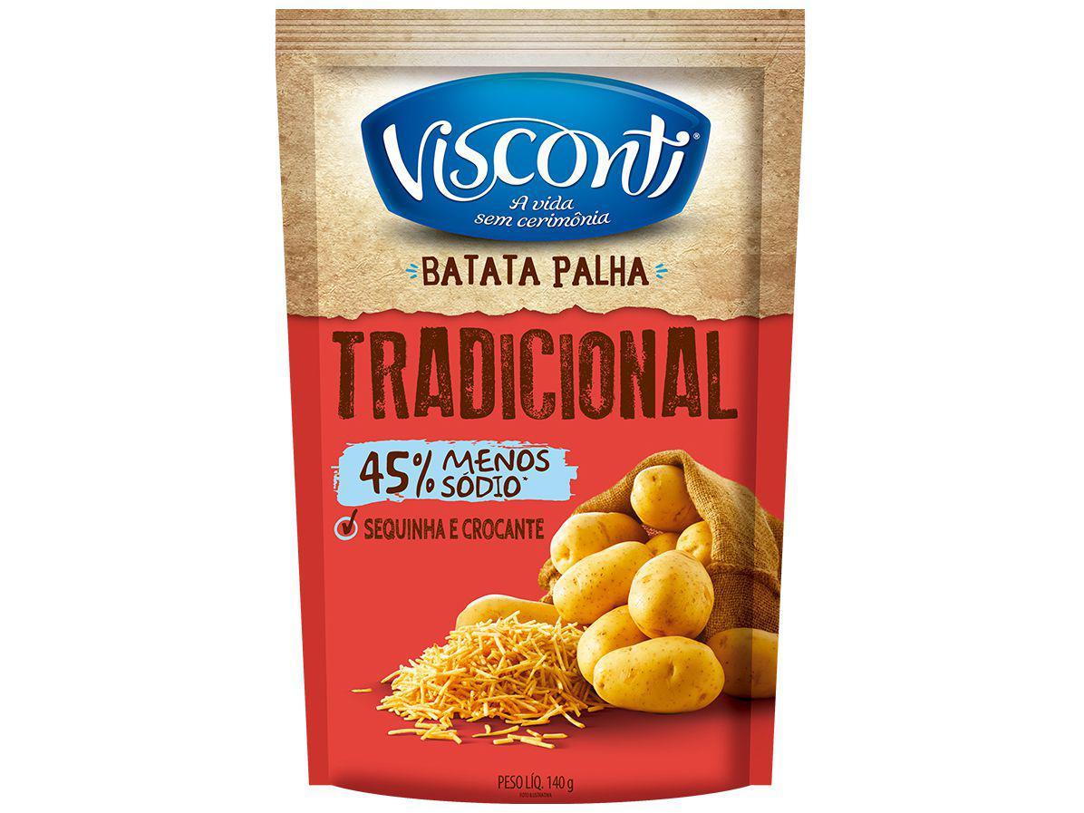 Batata Palha Visconti 40000554 Tradicional 140g