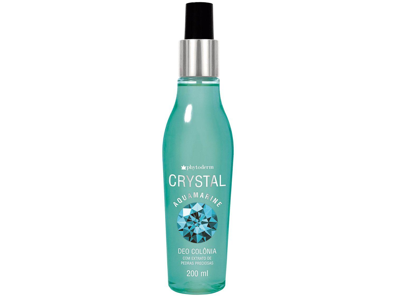 Perfume Phytoderm Deo Colônia Crystal Aquamarine - Feminino 200ml