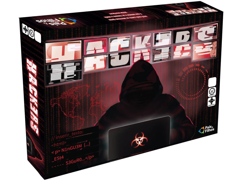 Jogo Hackers Tabuleiro Pais e Filhos