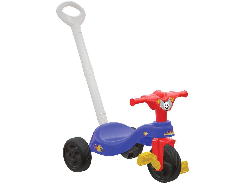 Triciclo Infantil 790350 com Empurrador - Pais e Filhos