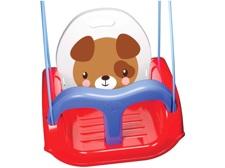 Balanço Infantil Cachorrinho Vermelho - Pais e Filhos