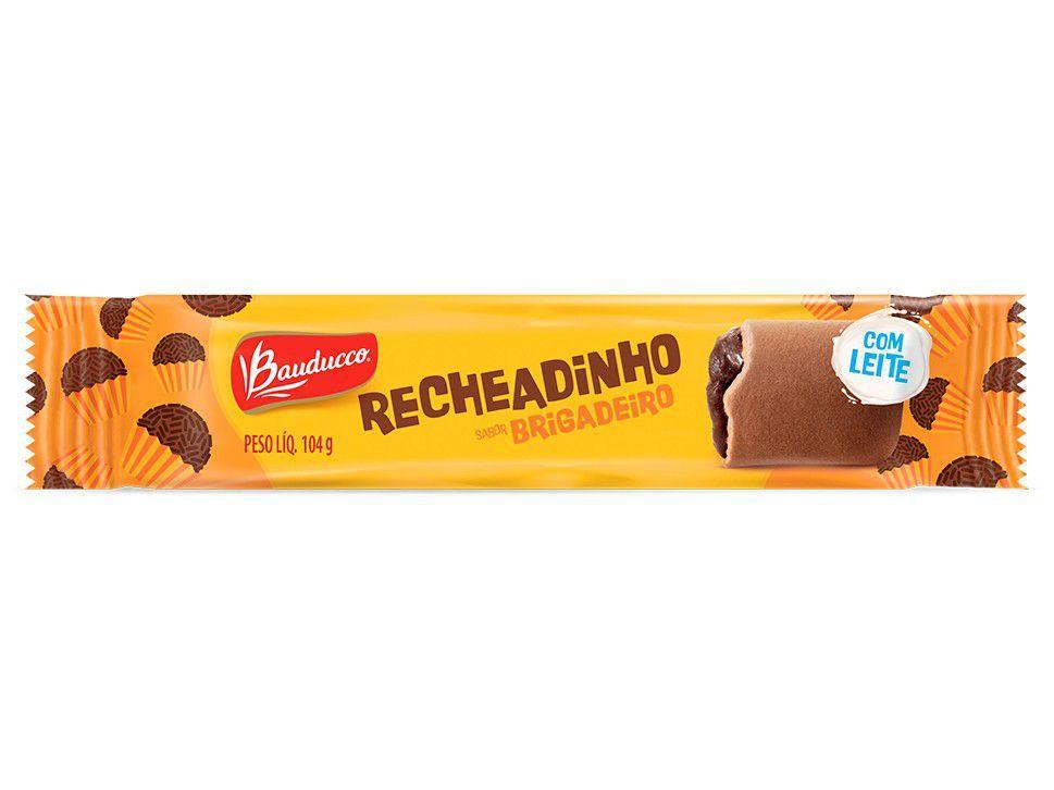 Biscoito Brigadeiro Recheadinho Bauducco 104g