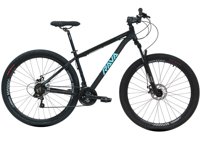 Bicicleta Aro 29 Rava Pressure Alumínio - Freio a Disco 21 Marchas Câmbio Shimano