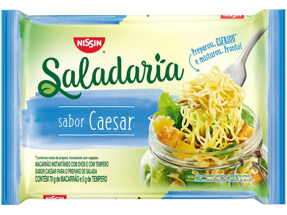 Macarrão Instantâneo Nissin Saladaria Caesar 75g