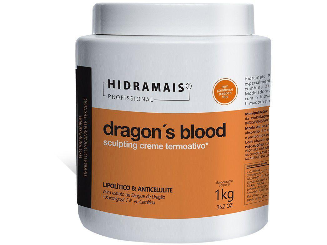 Creme de Massagem Redutor e Modelador Hidramais - Profissional Dragons Blood 1kg