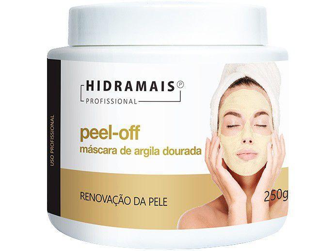 Máscara Facial Renovadora Hidramais - Cuidado Profissional Peel-Off 250g