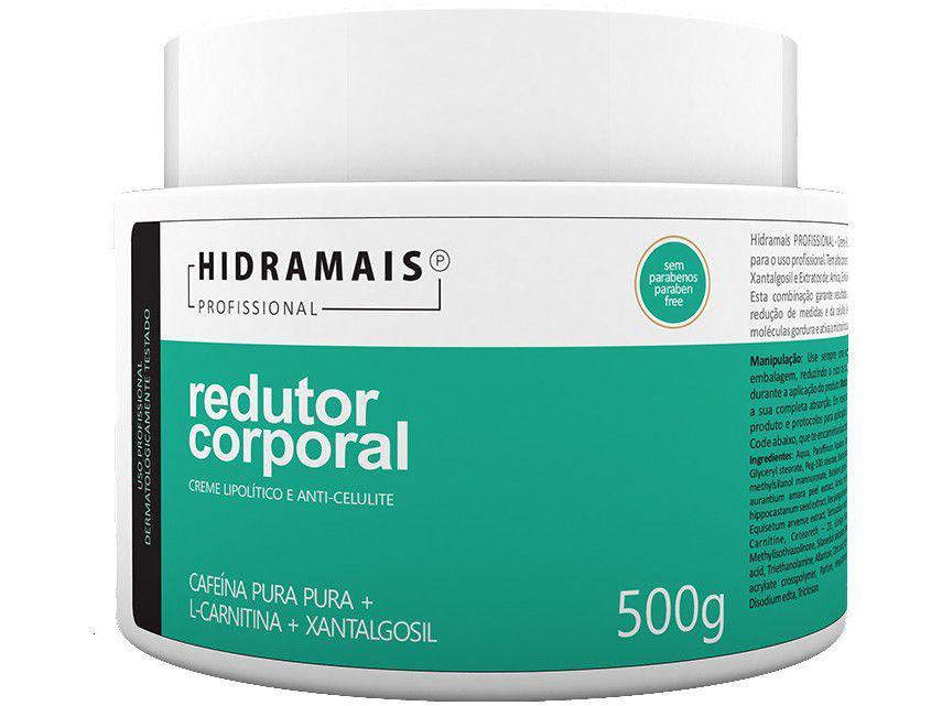 Creme de Massagem Redução de Medidas e Celulite - Hidramais Profissional 500g