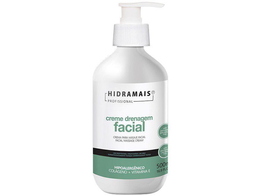 Creme de Massagem Facial Redutor Hidramais - Profissional 500g