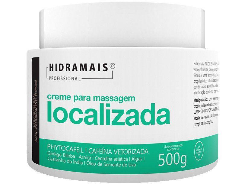 Creme de Massagem Modelador Hidramais Profissional - Massagem Localizada 500g