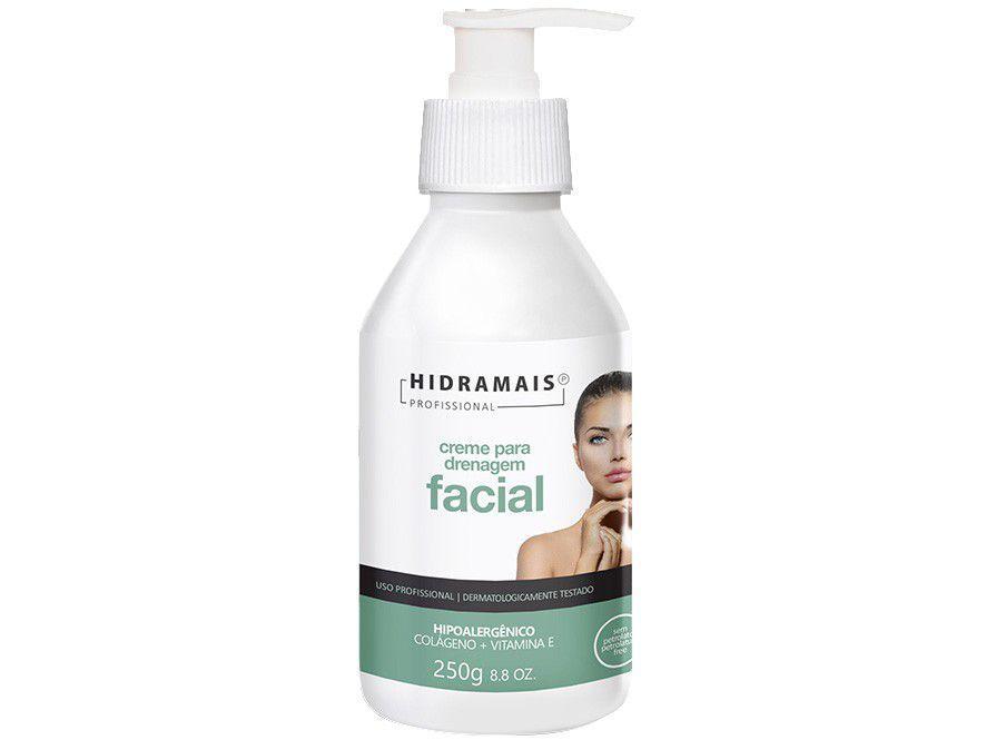 Creme de Massagem Modelador Hidramais Profissional - Facial 250ml