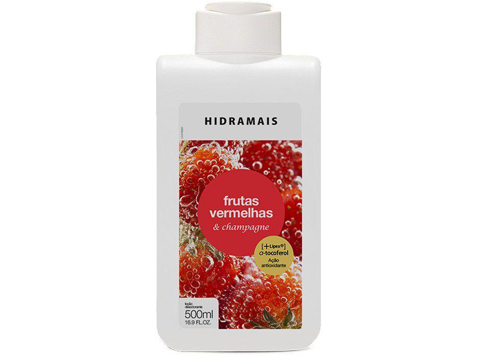 Hidratante Corporal Hidramais Frutas Vermelhas e - Champagne 500ml